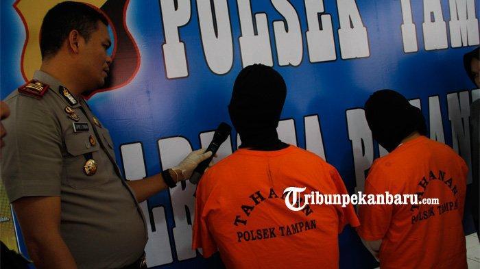 Kasus Ayah Bunuh Anak Kandung di Pekanbaru, Begini Jawaban Hermanto Ditanyai Alasan Bunuh Putranya
