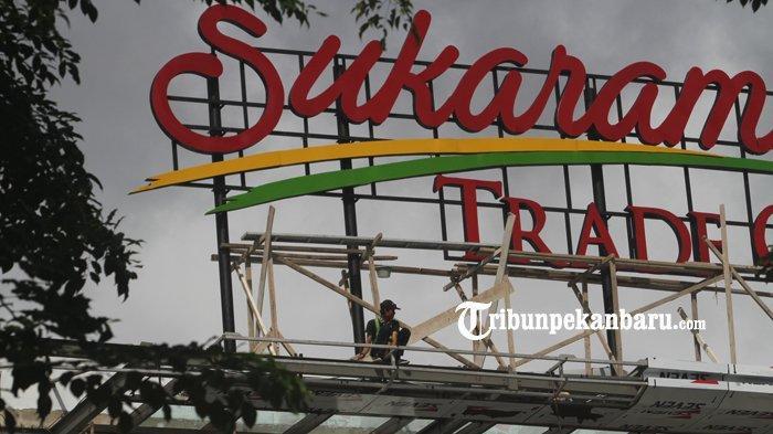 Kios Penampungan Sementara Segera Dibongkar, Pedagang Akan Tempati Bangunan STC Pekanbaru