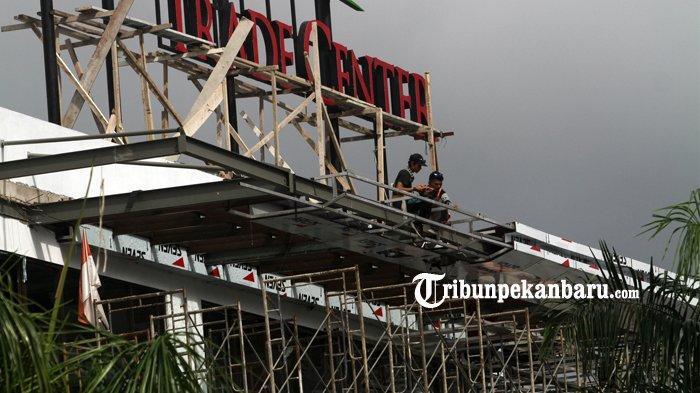 FOTO: Pengerjaan Sukaramai Trade Center Pekanbaru Sudah 90 Persen - foto_pengerjaan_sukaramai_trade_center_pekanbaru_sudah_90_persen_3.jpg