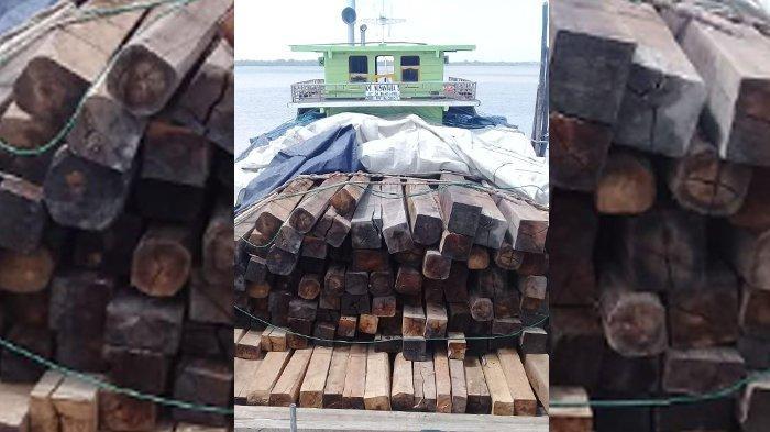 Kades Lukit Dimintai Keterangan oleh Polisi Terkait Illegal Logging di Kepulauan Meranti Riau