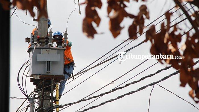 FOTO: Perbaikan Jaringan Listrik di Pekanbaru - foto_perbaikan_jaringan_listrik_di_pekanbaru_2.jpg