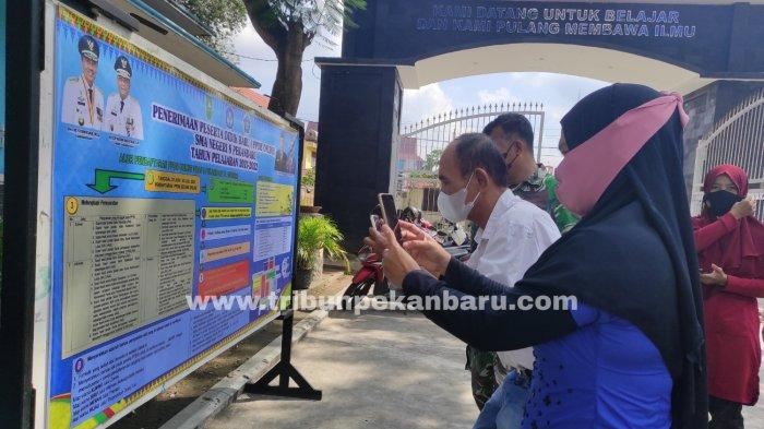 Besok PPDB Online SMA/SMK Negeri di Riau Ditutup Pukul 4 Sore, Tak Lulus Segera Daftar Sekolah Lain