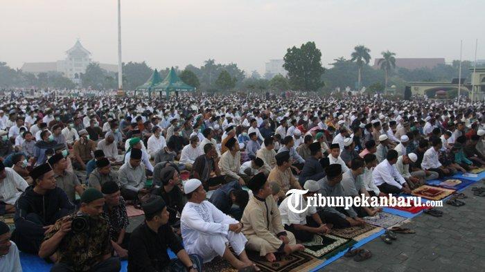 Wako Pekanbaru Pastikan Masyarakat Bisa Gelar Shalat Idul Adha di Masjid atau Lapangan