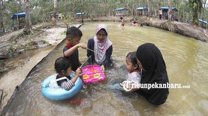 Pernah Dikunjungi Satu Pasien Positif Covid-19, Lokasi Wisata Sungai Hijau di Kampar Bakal Ditutup