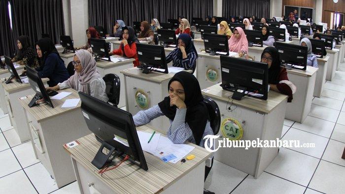 Jelang Tes CPNS Riau, Panitia Siapkan Layanan Swab Antigen di Sekitar Area Ujian SKD