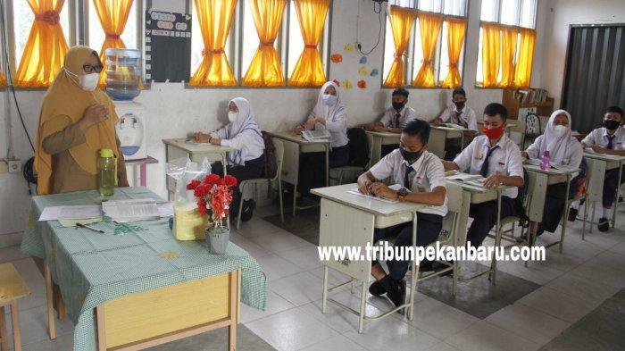 Tak Lama Lagi Belajar Tatap Muka Terbatas Digelar di Pekanbaru,Tapi Sekolah Swasta Alami Kendala Ini