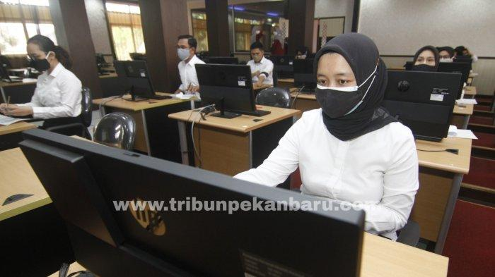 Baru Pertama Ikut Tes CPNS Riau, Eva Justru Tak Belajar Jelang Ujian, Berapa Poin yang Diraihnya?