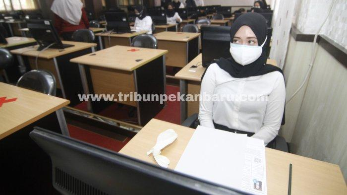 640 Peserta Sudah Jalani SKD CPNS Pemprov Riau, Ujian Masih Berlanjut