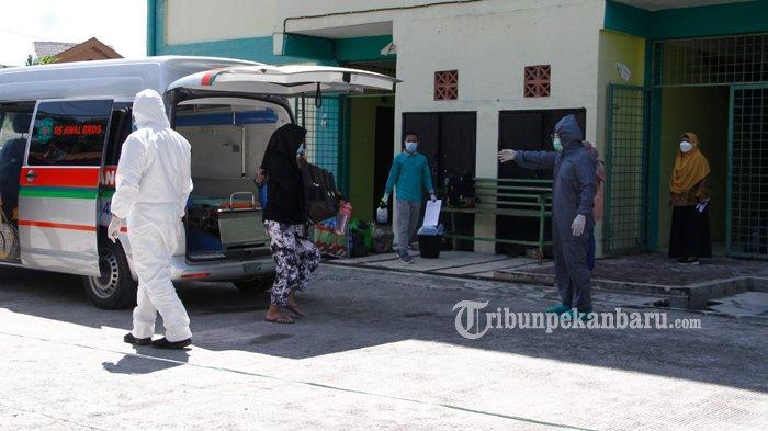 UPDATE Covid-19 di Riau, Pasien Covid-19 Sembuh Meningkat, 784 Pasien Sehari
