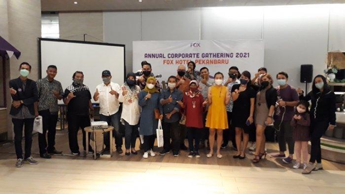 FOX Hotel Pekanbaru Gelar Annual Corporate Gathering 2021