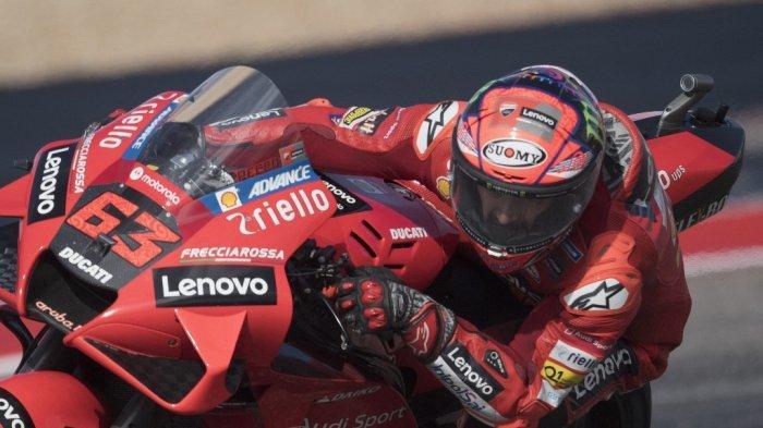 Live MotoGP Americas 2021, Francesco Bagnaia Pole Posisition, Rossi Start dari Posisi ke-20