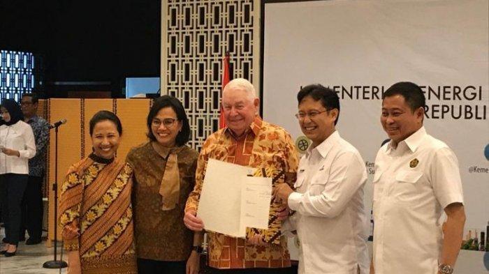 Indonesia Resmi Kuasai 51 Persen Saham PT Freeport, Menteri-menteri Tersenyum