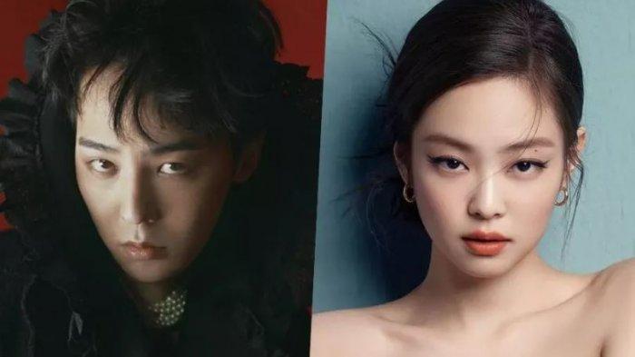 Jennie BLACKPINK dan G-Dragon Dikabarkan Pacaran, Sudah 1 Tahun, Ini Kata Agensi
