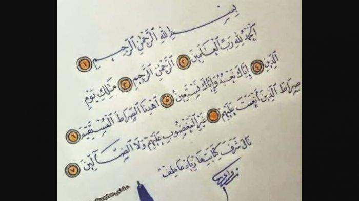 UNDUH di Sini, MP3 Surat Al Fatihah, Lengkap Bacaan Latin dan Arab