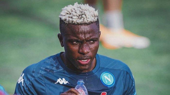 Striker Napoli Victor Osimhen Tantang Penyerang Inter Milan Romelu Lukaku