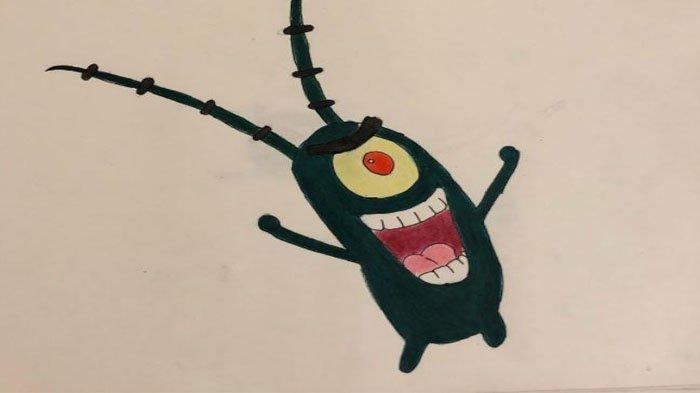 Sosok Plankton Sheldon dan Arti Sheldon  dalam Film Sponge Bob