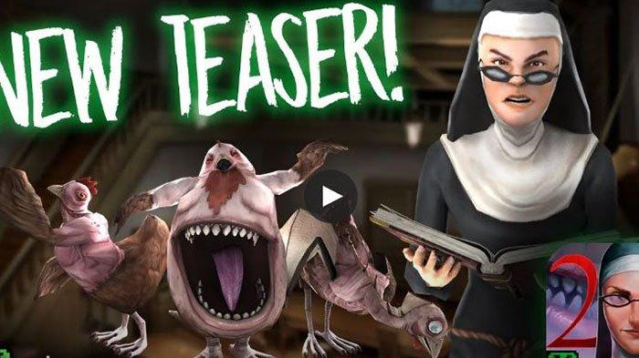 Game Horor, Cara ke Luar dari Sekolah Evil Nun 2, Membunuh Hewan Peliharaan Evil Nun