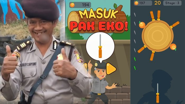 Viral Aksi AKP Eko, Kini Ada Game 'Masuk Pak Eko' di Playstore, Begini Cara Mainnya