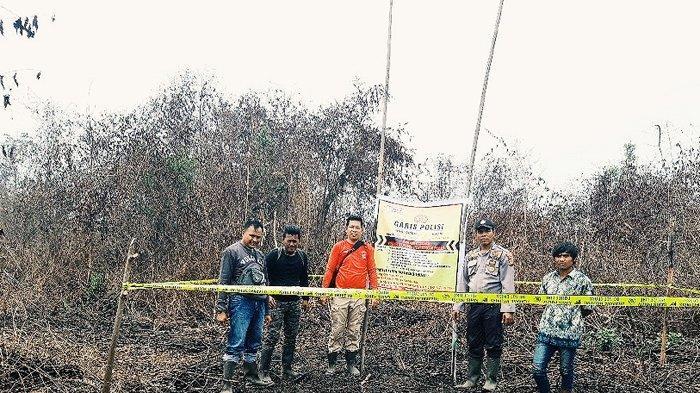 Empat Hektare Lahan Hangus, Polisi Amankan Satu Terduga Pelaku Pembakar Lahan