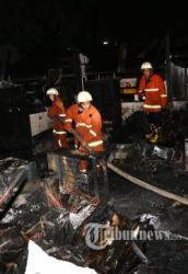 Gedung Kementerian ESDM Terbakar