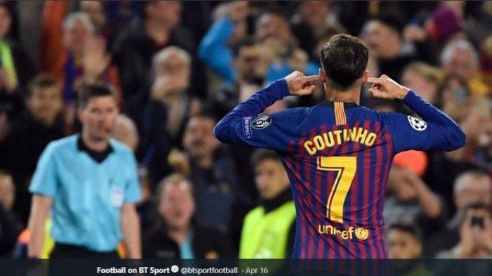 Sudah Dilepas Barcelona, Namun Inter Milan dan AC Milan Sulit Dapatkan Coutinho, Ini Penyebabnya