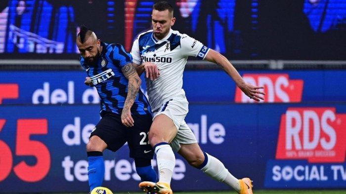 Inter Milan Kunci Scudetto, Ini Catatan Luar Biasa Arturo Vidal