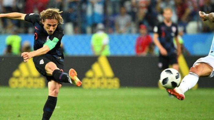 Jelang Laga Final Piala Dunia 2018, Beredar Video Masa Kecil Modric Menggiring Kambing