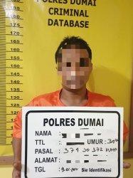 Karyawan PT MSSP Dumai Diringkus Polisi, Ini Penyebabnya