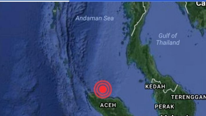 Gempa Guncang Aceh Berkekuatan 5,3 SR, Tidak Berpotensi Tsunami, Belum Dilaporkan Ada Korban Jiwa