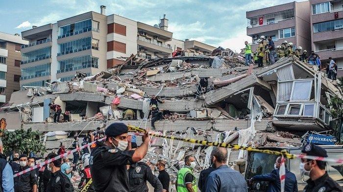 33 Jam Terkubur dalam Reruntuhan Bangunan Akibat Gempa Turki, Kakek 70 Tahun Ini Selamat