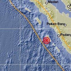 BREAKING NEWS: Mentawai Diguncang Gempa 6,0 SR Sore Ini, BMKG: Tidak Berpotensi Tsunami