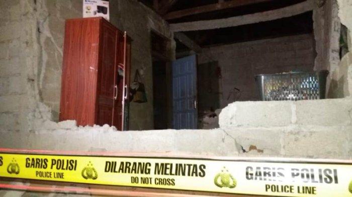 Satu Warga Meninggal Dunia Tertimpa Reruntuhan Bangunan Saat Tidur