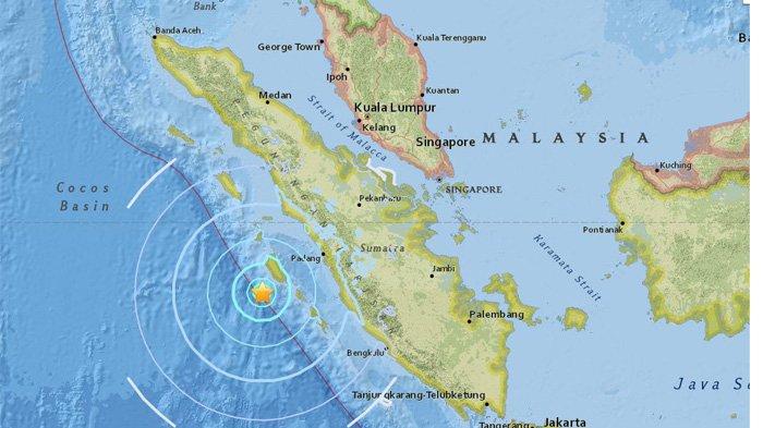 VIDEO: Kepanikan Warga di Padang Saat Gempa 6.0 SR Guncang Mentawai Sore Ini