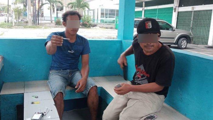 Gerak-gerik Mencurigakan, Dua Pria di Pekanbaru Ini Terciduk Bawa Narkoba Saat Lewat Depan Petugas