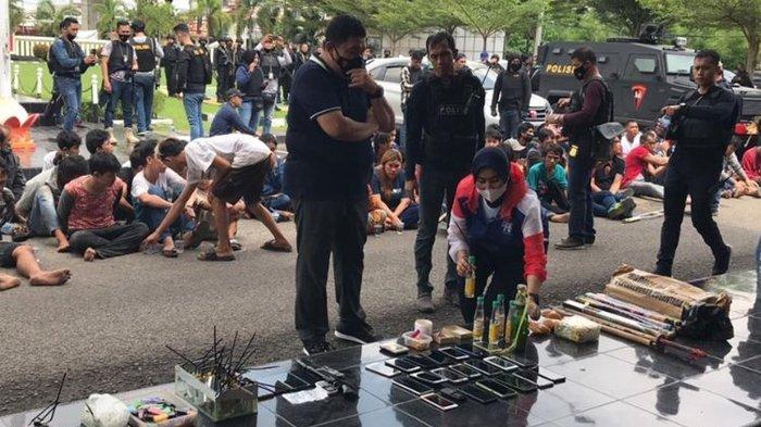 Dramatis, Ada 7 Warga yang Nekat Melompat ke Sungai Musi saat Polisi Gerebek Kampung Narkoba