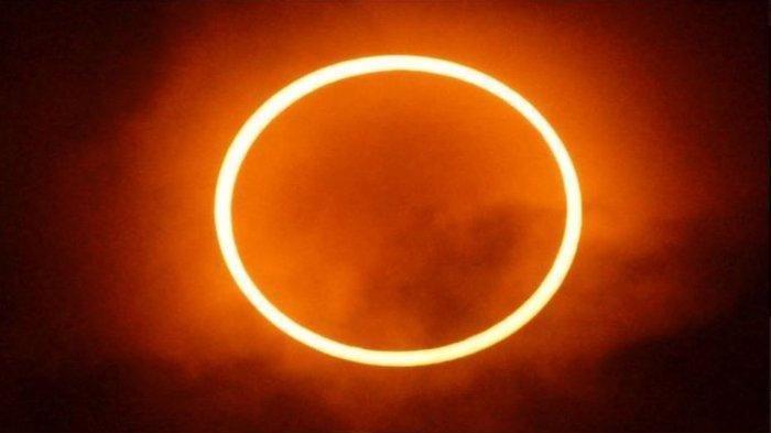 Besok Gerhana Matahari Cincin 21 Juni 2020, Ini Jadwal di 31 Provinsi Indonesia, Riau Jam 14.57 WIB