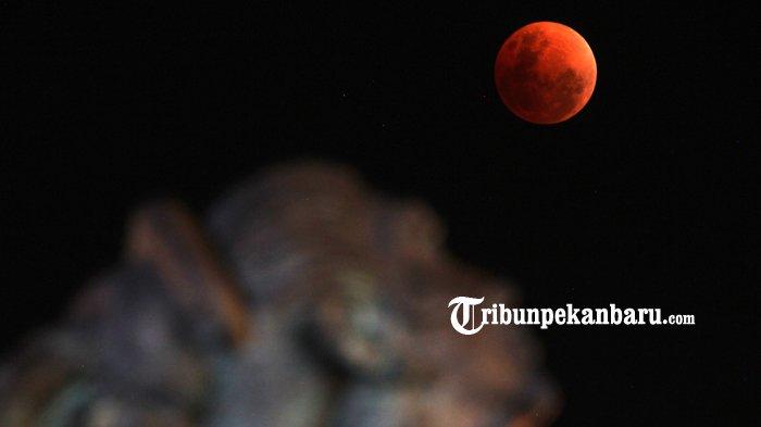 Gagal Melihat Gerhana Bulan Total 28 Juli Dini Hari Nanti? Silahkan Tunggu Tahun 2021