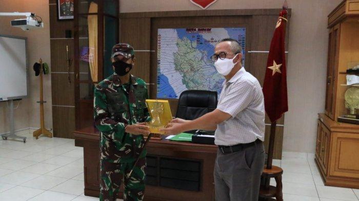 Pererat Silaturahmi, GM PLN UIP Sumbagteng Kunjungi Korem 031/Wira Bima