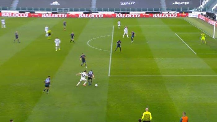 Liga Italia: Inilah Gocekan ala Messi yang Diperagakan Federico Chiesa Bikin Bek Napoli Tak Berkutik
