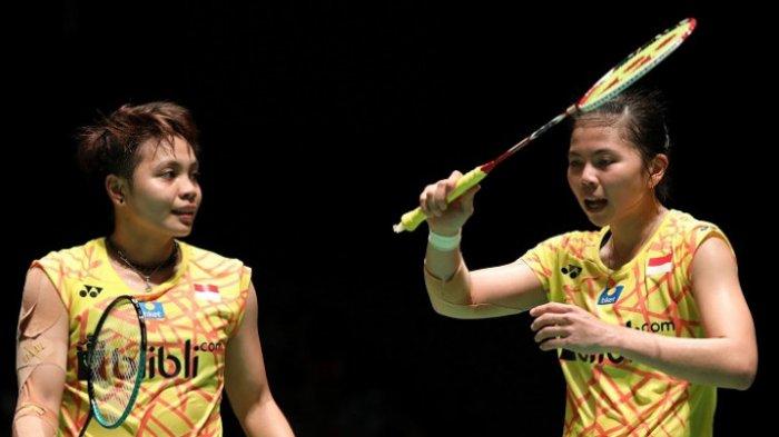LIVE TVRI Olimpiade Tokyo Cabor Badminton: Tonton Greysia/Apriyanivs Fukushima/Hirota