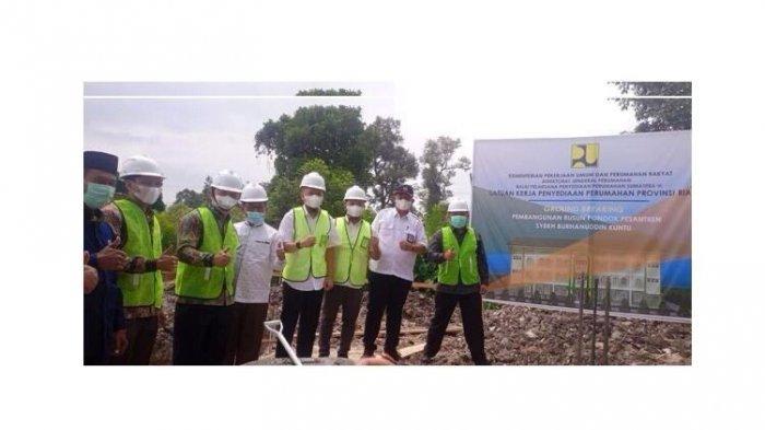 Ground Breaking Pembangunan Rusun Ponpes Syeh Burhanuddin Kuntu
