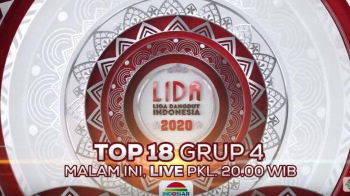 Live LIDA 2020 Indosiar Malam Ini Grup 4 TOP 18, Ada Nia, Hamid dan Ila, Siapa Favorit Kamu?