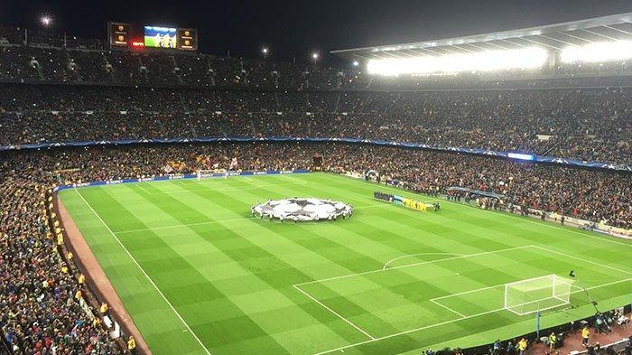 Sedang Live, Nonton Online Siaran Langsung Barcelona Vs Bayern Munchen Liga Champions di SCTV
