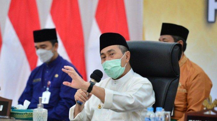 Belajar Tatap Muka Terbatas di Riau Mulai 1 Juli, Gubri Syamsuar Ingatkan Bupati-Wako Berhati-hati