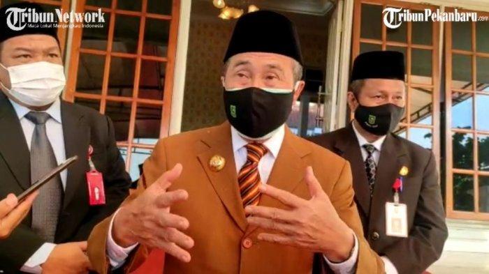 Nyaris Tembus 1.000 Kasus, Gubernur Riau dan Kadiskes Kompak Ungkap Sebab Lonjakan Covid-19 di Riau
