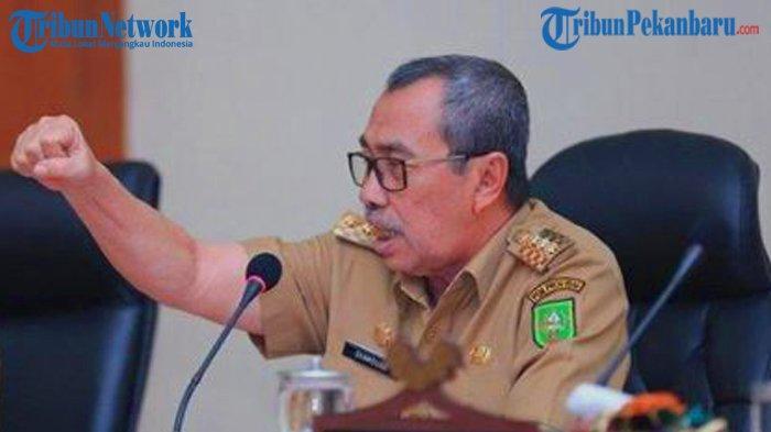 Pelantikan Bupati Pelalawan Terpilih, Gubernur Riau Syamsuar Sebut Secara Serentak