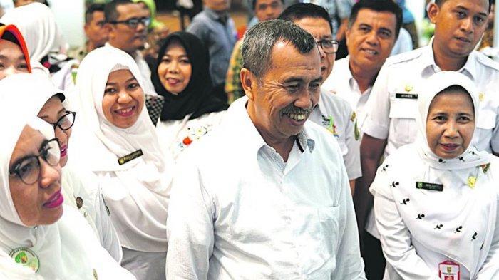 Ditanya Soal Rencana Maju Jadi Ketua DPD Golkar Riau, Begini Tanggapan Syamsuar