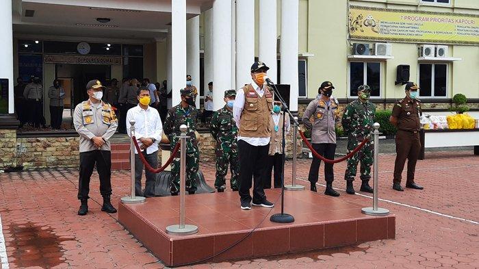 Gubernur Riau Bersama Kapolda dan Danrem Lakukan Kunker Ke Kota Dumai, Ini Kegiatannya