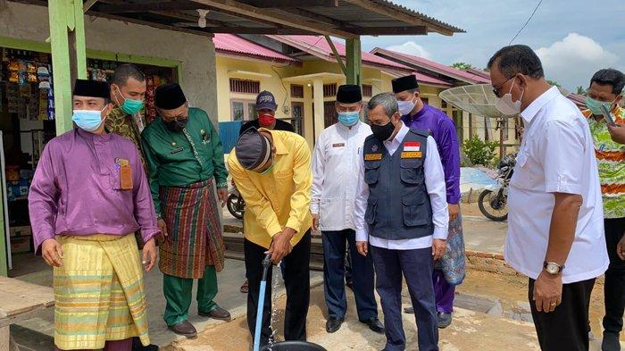 Gubernur Riau Syamsuar Perjuangkan Jalan Sinaboi-Dumai ke Pusat, Bupati Rohil: Terimakasih Pak Gubri