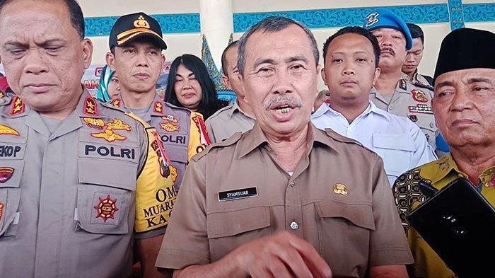 Gubernur Riau Syamsuar Peringatkan Perusahaan Maksimal Bantu Pemadaman Karhutla di Wilayahnya